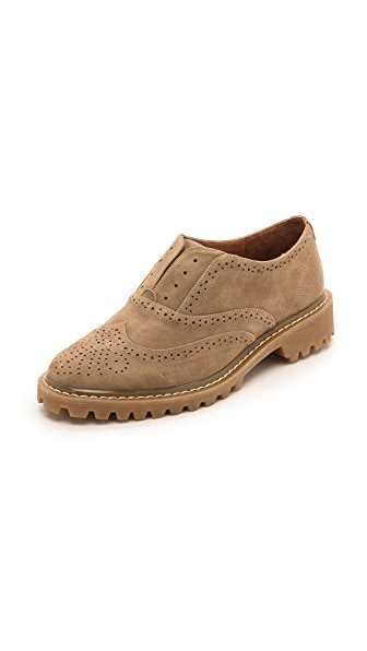 Joie Faulkner Suede Oxfords