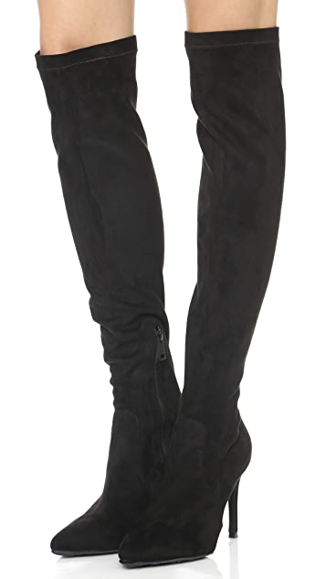 Joie Jemina Suede Over the Knee Boots