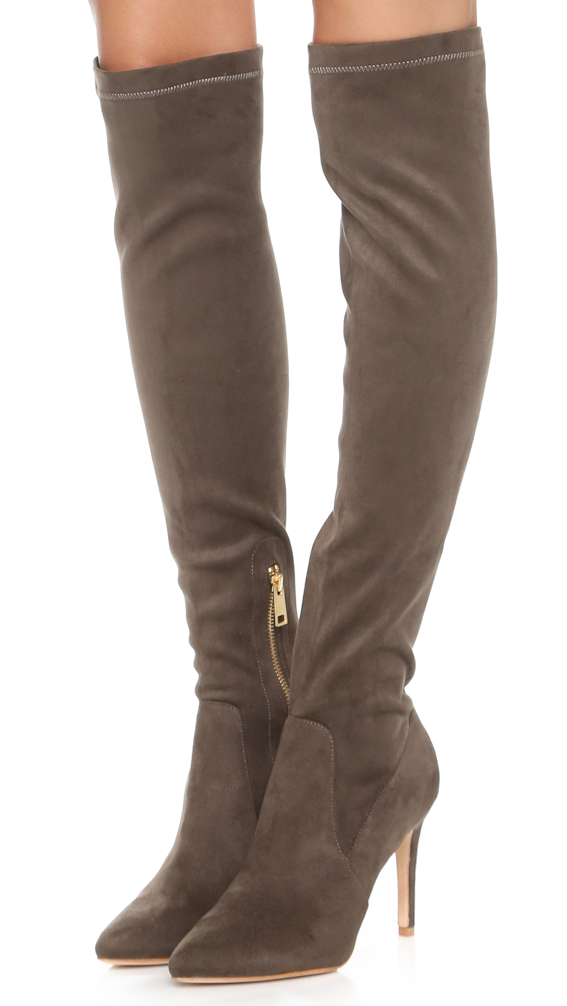 Joie Jemina Suede Over the Knee Boots | SHOPBOP