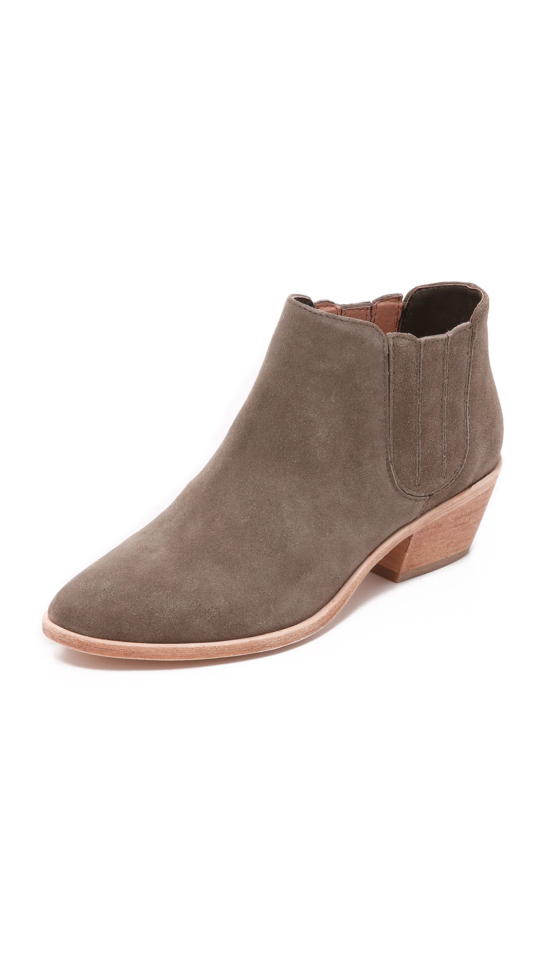 Photo of Joie Barlow Suede Booties Charcoal - Joie online