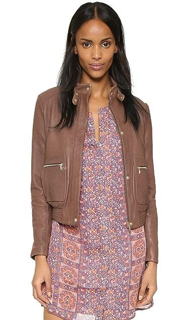 Joie Nakotah Leather Jacket