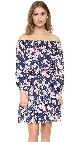 Joie Marx Dress - Dark Navy With Bright Freesia at Shopbop
