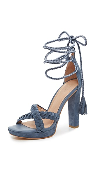 Joie Flo Ankle Wrap Sandals