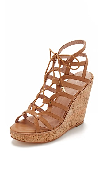 Joie Larissa Wedge Sandals - Cuoio at Shopbop