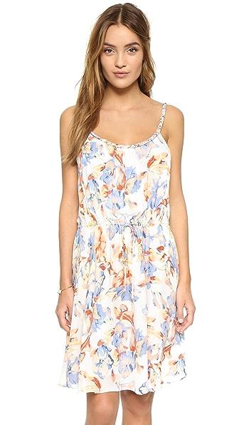 Joie Froste Multicolor Floral Dress - Porcelain at Shopbop
