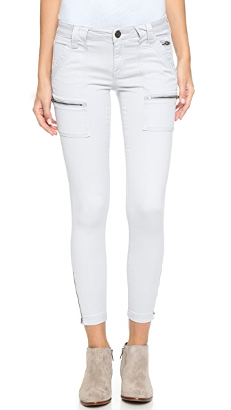 Joie Park Skinny Utility Cargo Pants - Soft Cement at Shopbop