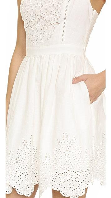 Joie Ornata Embroidered Eyelet Dress
