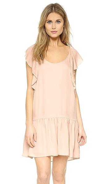 Joie Larose Silk Dress - Garden Rose