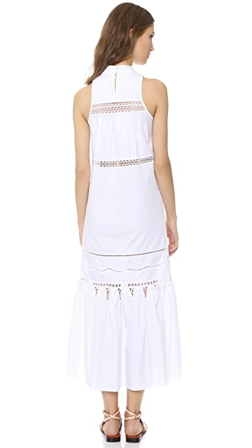 Jonathan Simkhai Track Maxi Dress