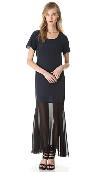 Jonathan Simkhai Maxi Baseball Dress