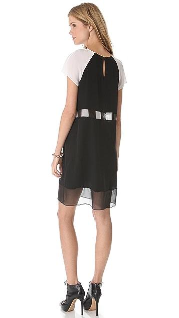 Jonathan Simkhai Check T Dress