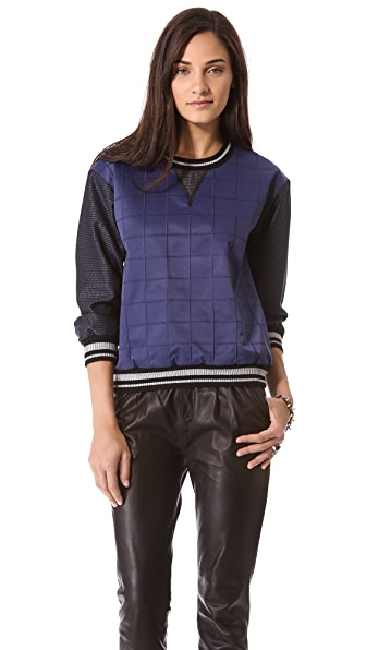 Jonathan Simkhai Utility Tech Sweatshirt