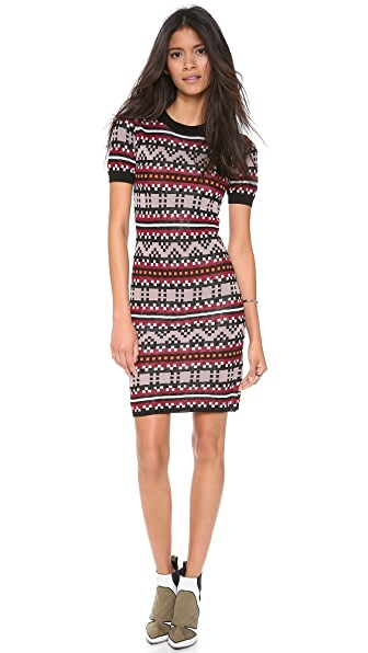 Jonathan Simkhai Pixel Sweater Dress