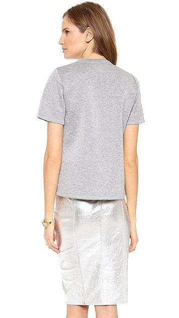 Jonathan Simkhai Classic Neoprene T Shirt