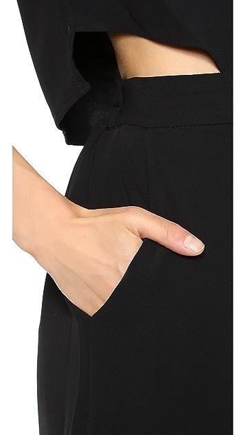Jonathan Simkhai Easy Cutout Jumpsuit
