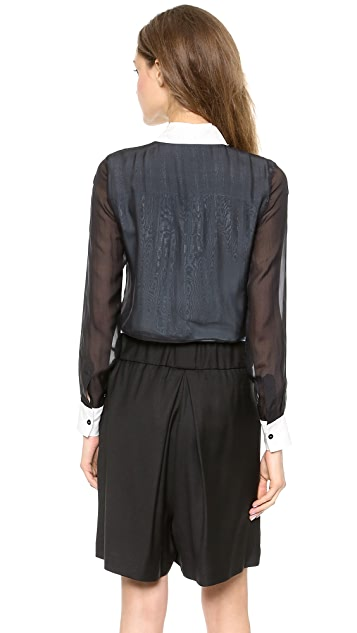 Jonathan Simkhai Double Layer Blouse