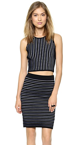 Jonathan Simkhai Knit Rib Crop Top