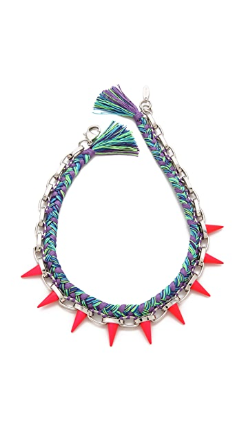 Joomi Lim Punk Carnival Spike Necklace