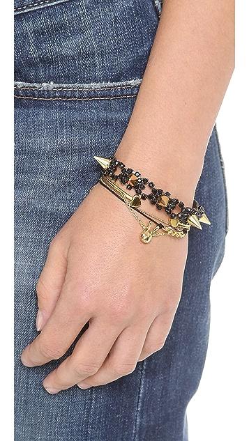 Joomi Lim Baroque Crystal & Spike Bracelet
