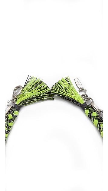 Joomi Lim Punk Carnival Rio Spike & Braided Necklace