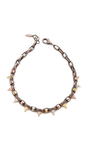 Joomi Lim Mixed Emotions Spike Choker Necklace