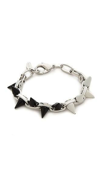 Joomi Lim Monochrome Mania Spike Bracelet