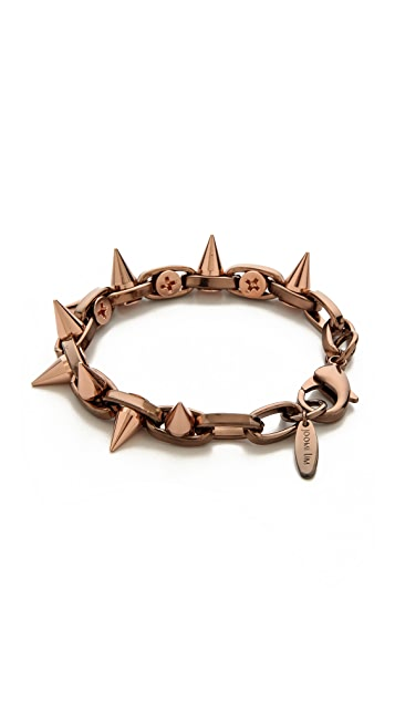 Joomi Lim Midnight Rose Double Row Spike Bracelet