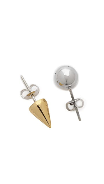 Joomi Lim Ball & Spike Earrings