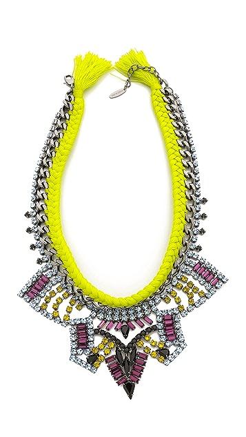 Joomi Lim Rebel Romance Braided Necklace