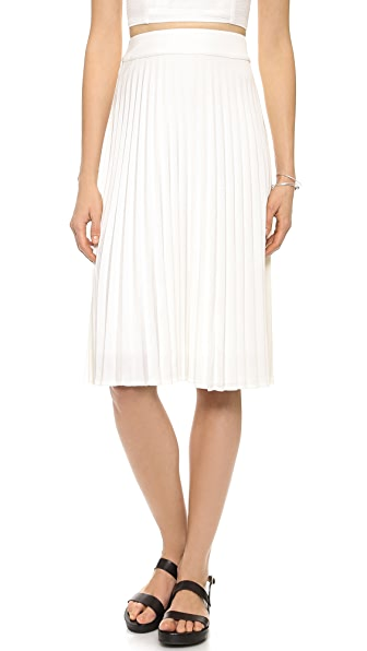 J.O.A. Pleated Skirt
