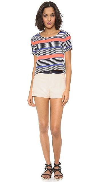 J.O.A. Ivory Shorts