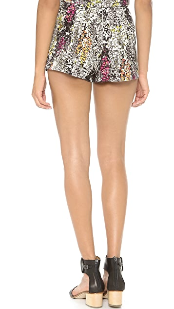 J.O.A. Printed Shorts