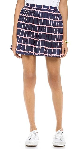 J.O.A. Pleated Skirt