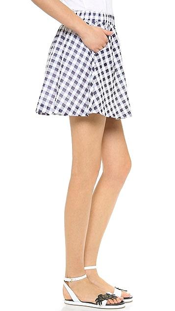 J.O.A. Gingham Skirt
