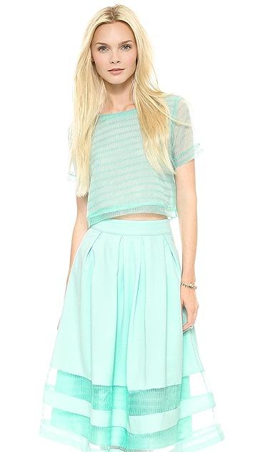 J.O.A. Tee Shirt Blouse
