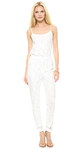J.O.A. Lace Jumpsuit