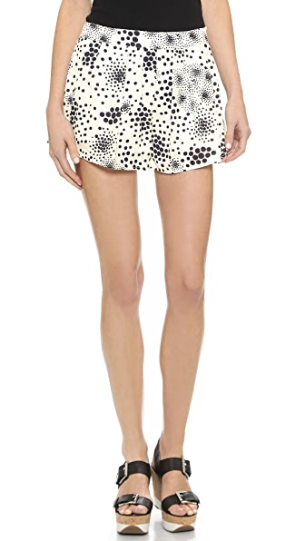 J.O.A. Pleated Shorts