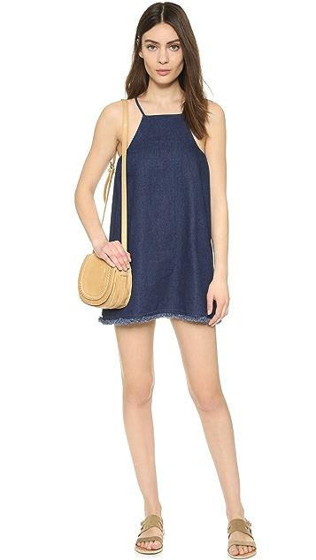 J.O.A. Denim Mini Dress