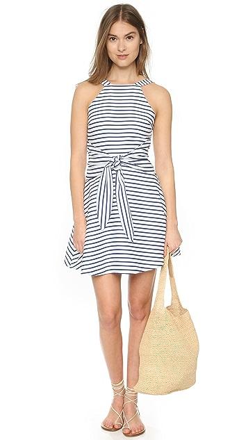 J.O.A. Tie Front Mini Dress