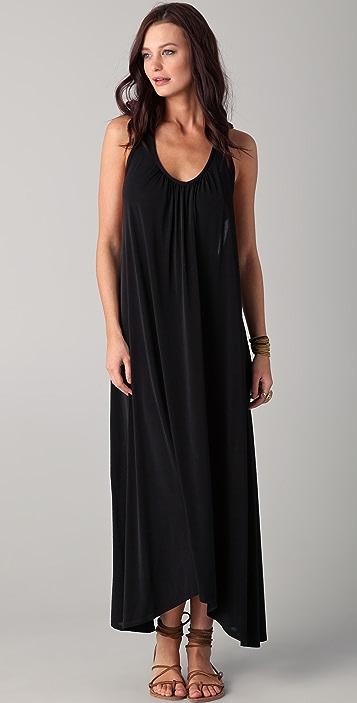 JOSA tulum Halter Maxi Cover Up Dress