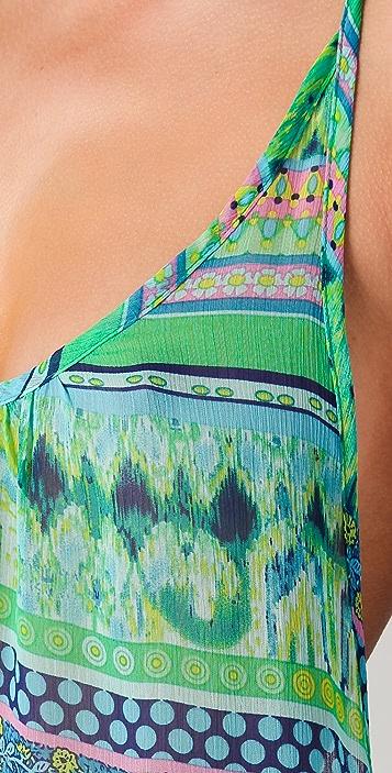 JOSA tulum Halter Cover Up Maxi Dress