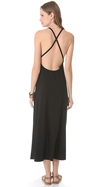 JOSA tulum Low Back Cross Cover Up Dress