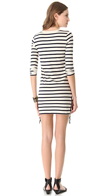 Joseph Stripe Tunic Dress