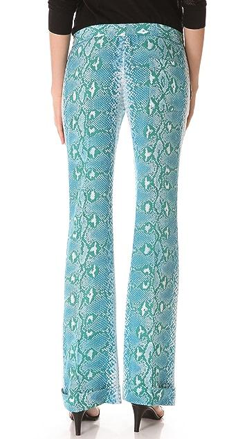 Joseph Snake Print Pants