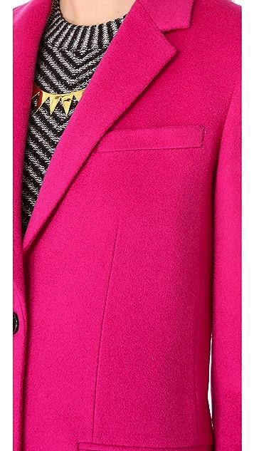 Joseph Man Long Wool Coat