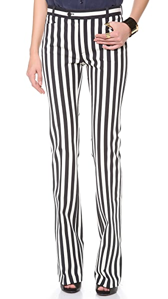 Joseph Rocket Striped Pants
