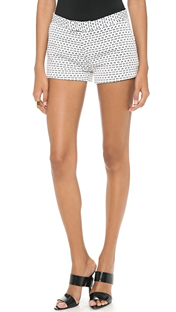 Joseph Delaunay Optic Jacquard Shorts