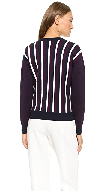 Joseph Stripe Sweater