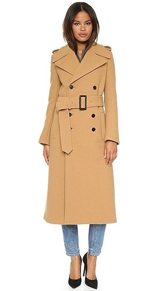 Joseph Townie Extra Long Trench Coat