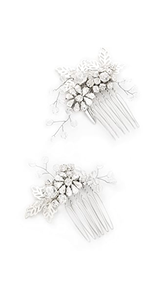Jenny Packham Lazuline Mini Crystal Comb Set